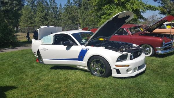 Showcase cover image for Getuone's 2008 Ford Mustang Roush 427R