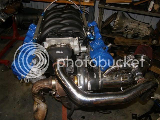 Hellion Turbo system for 4 6 3V | Lightning Rodder